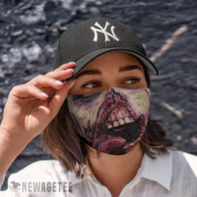 Cloth Face Mask Ghoul Zombie Face Mask