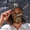 Cloth Face Mask Iron Maiden Tour Eddie Powerslave Face Mask