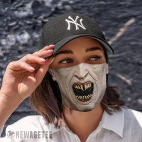 Cloth Face Mask Nosferatu Count Dracula Halloween costume Face Mask