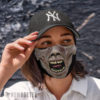 Cloth Face Mask World War Z Ghoul Face Mask Zombie Halloween costume