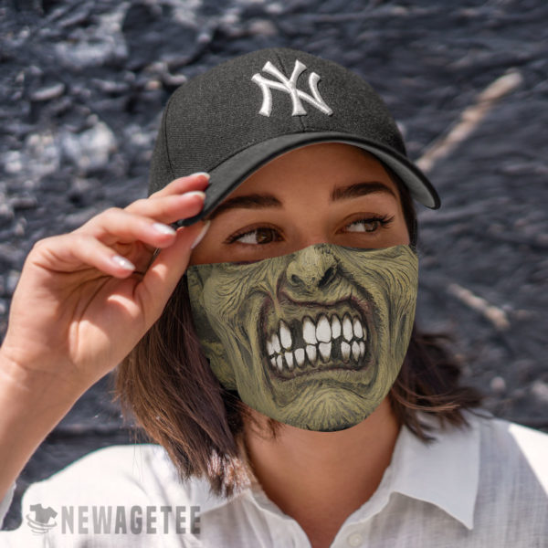 Cloth Face Mask Zombie Face Mask Halloween costume Dawn of the Dead