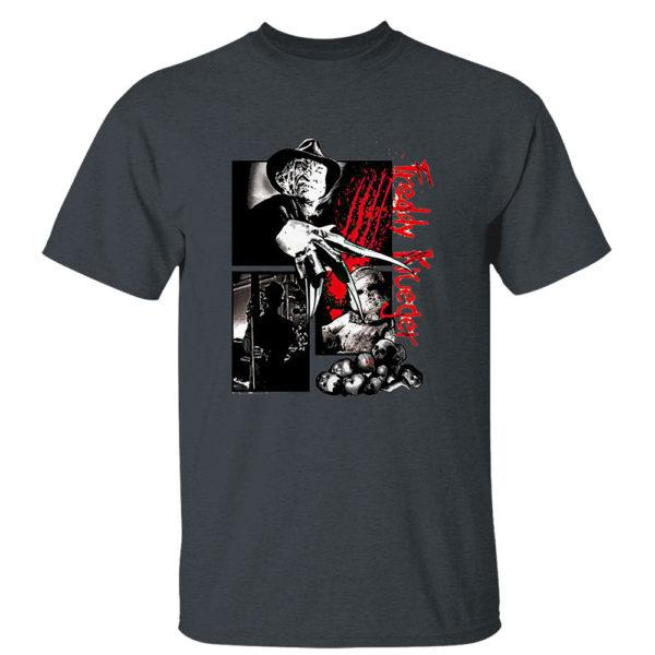 Dark Heather T Shirt Freddy Krueger Halloween 2021 horror shirt