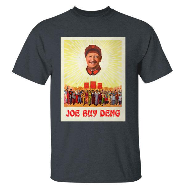 Dark Heather T Shirt Joe Buy Deng Political Satire Meme Beijing China Shirt