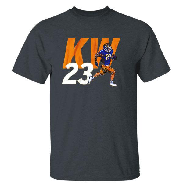 Dark Heather T Shirt Kyren Williams Kw23 Shirt