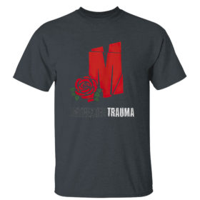 Dark Heather T Shirt Mozzy Untreadted Trauma T Shirt