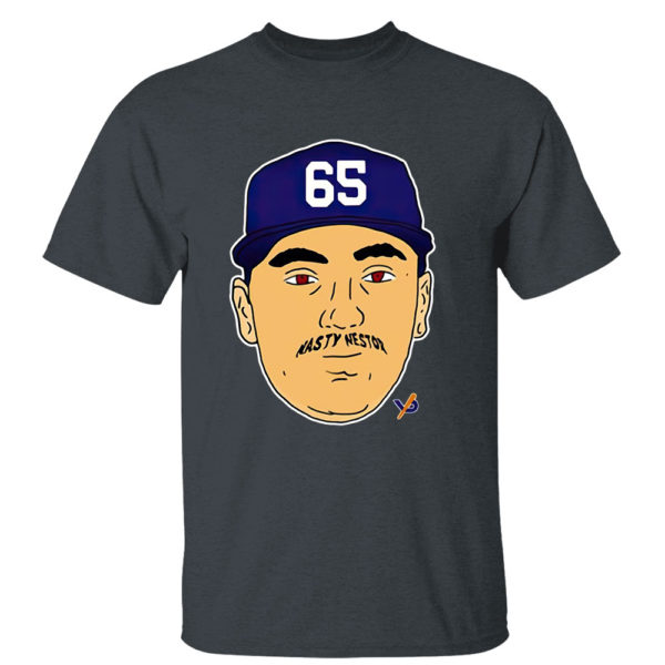 Dark Heather T Shirt Nasty Nestor 65 New York Yankees Shirt