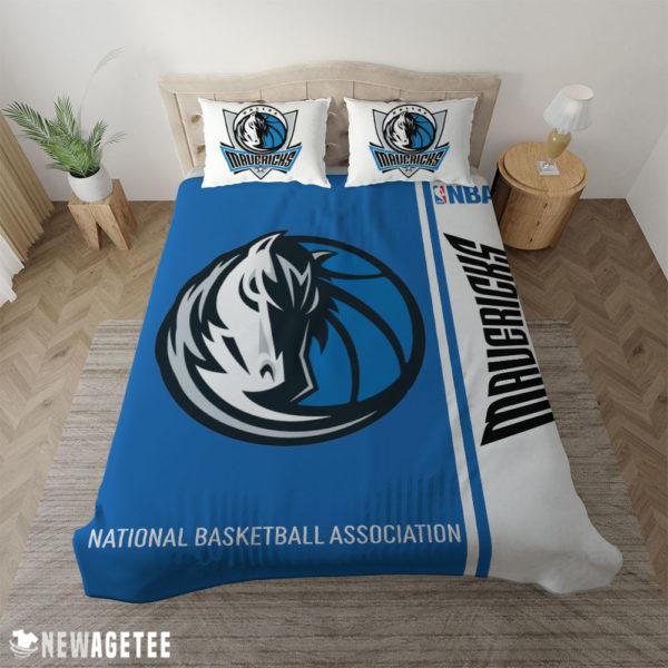 Duvet Cover Dallas Mavericks NBA Basketball Duvet Cover and Pillow Case Bedding Set