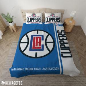 Duvet Cover LA Clippers NBA Basketball Duvet Cover and Pillow Case Bedding Set