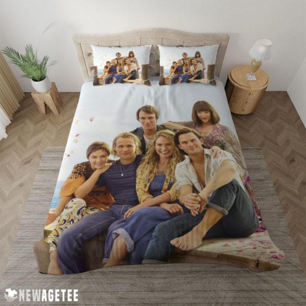 Duvet Cover Mamma Mia Here We Go Again Movie Duvet Cover and Pillow Case Bedding Set