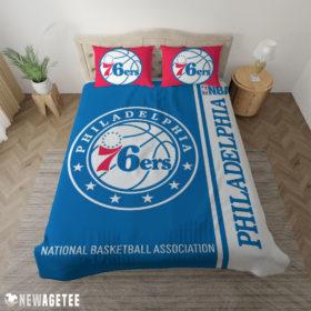Duvet Cover Philadelphia 76ers NBA Basketball Duvet Cover and Pillow Case Bedding Set
