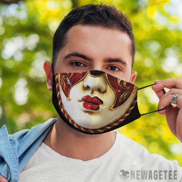 Face Mask Carnival Mardi Gras Face Mask