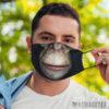 Face Mask Chimpanzee Gorilla Face Mask Halloween Costume