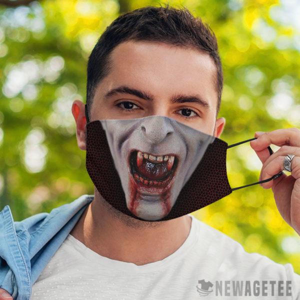 Face Mask Count Dracula Cosmetics Vampire Face Mask