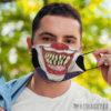 Face Mask Evil clown Face Mask Halloween costume