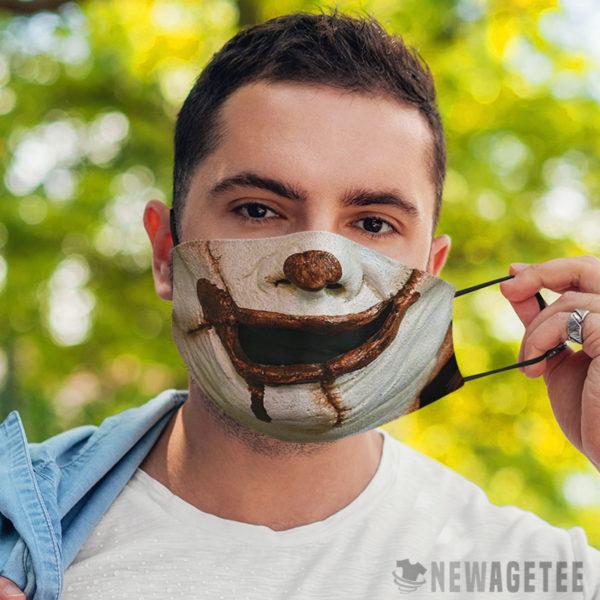 Face Mask Evil clown It Face Mask Halloween costume