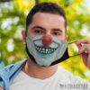 Face Mask Evil clown Masquerade ball Face Mask