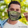 Face Mask Frankenstein Face Mask Halloween costume