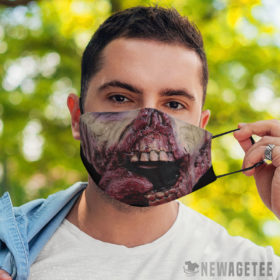 Face Mask Ghoul Zombie Face Mask