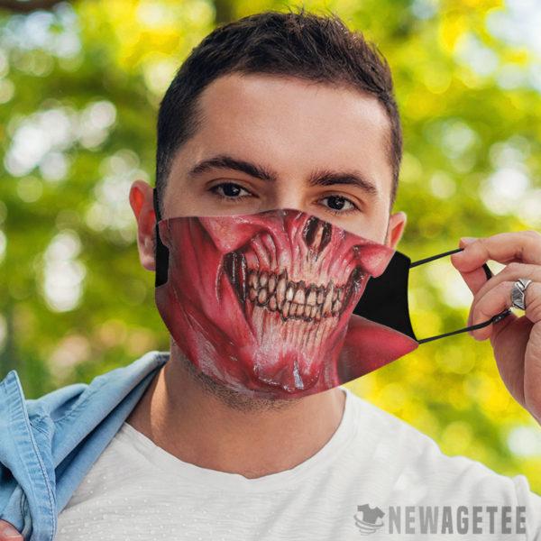 Face Mask Lucifer Devil Demon Satan Face Mask
