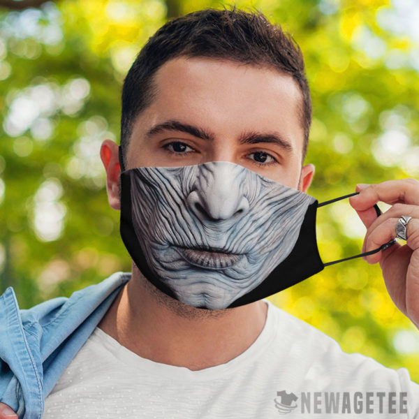 Face Mask Night King 0 White Walker Face Mask