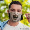 Face Mask Nosferatu Count Dracula Halloween costume Face Mask