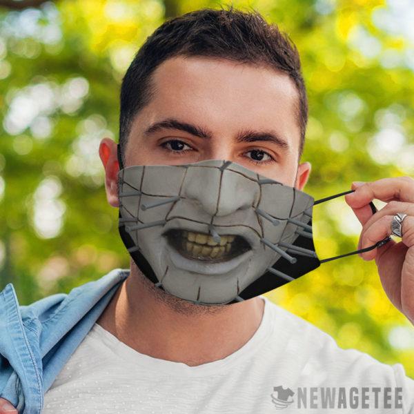 Face Mask Pinhead Hellraiser Face Mask
