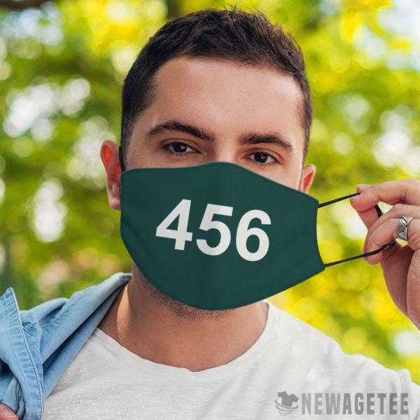 Face Mask Squid Game 456 Face Mask Seong Gi hun
