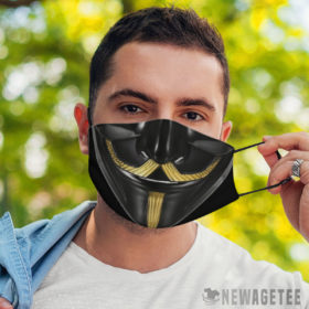 Face Mask V Guy Fawkes Face Mask Masquerade ball Anonymous