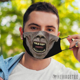 Face Mask World War Z Ghoul Face Mask Zombie Halloween costume
