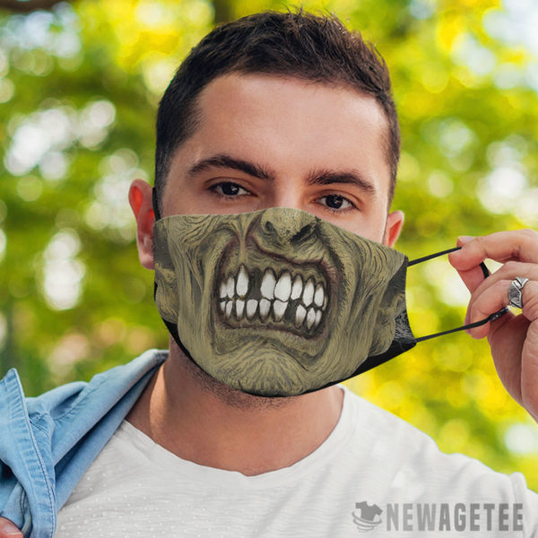 Face Mask Zombie Face Mask Halloween costume Dawn of the Dead