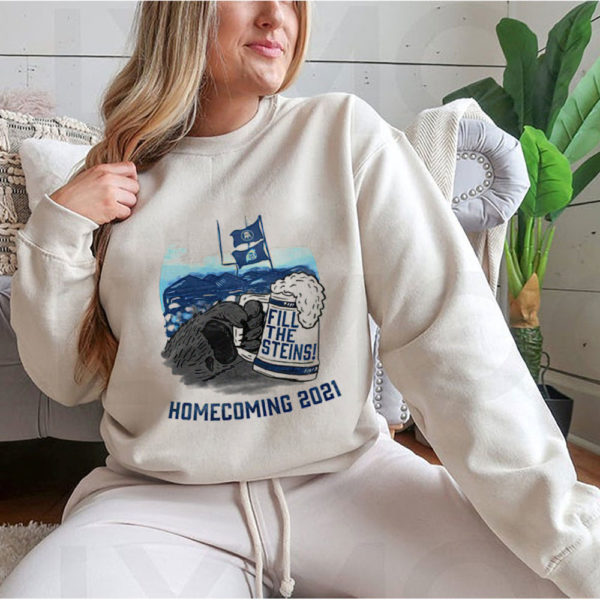 Hoodie Fill the Steins Homecoming 2021 beer t shirt