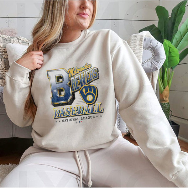 Hoodie Milwaukee Brewers 47 Tubular shirt