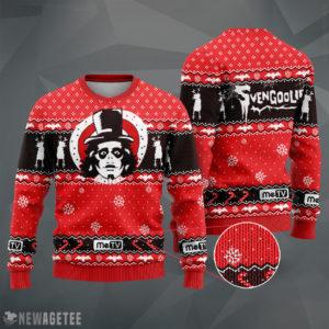Knit Sweater Svengoolie Holiday Knit Ugly Christmas Sweater