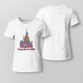 Lady Tee 50th anniversary case castle party like its 1996 littleshopofgeeks merch shirt