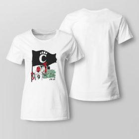 Lady Tee Cincinnati 24 13 flag shirt