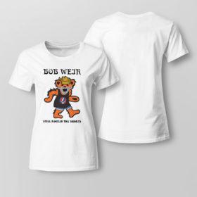 Lady Tee Grateful Dead Bear Bob weir still rockin the short shirt