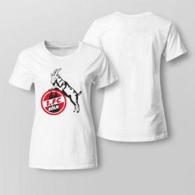 Lady Tee Koln FC logo shirt