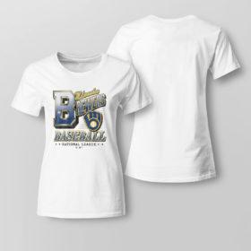 Lady Tee Milwaukee Brewers 47 Tubular shirt
