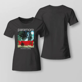 Lady Tee Paramore merch all we know is falling shirt