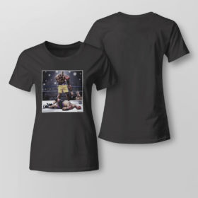 Lady Tee Shaquille O Neal And Chuck Knockout Shirt