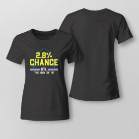 Lady Tee St Louis 2 8 Chance Stl The Run Of 2021 Shirt