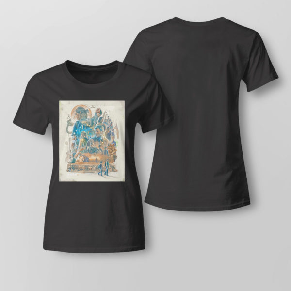 Lady Tee The Last of Us Poster shirt