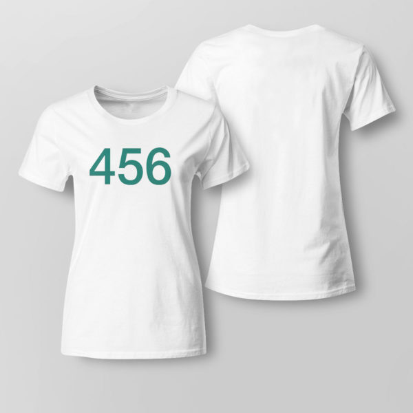 Lady Tee The Squid Games 456 Shirt