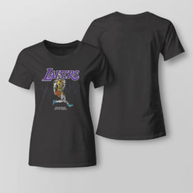Lady Tee Warren Lotas NBA Team LA Lakers Lebron Shirt