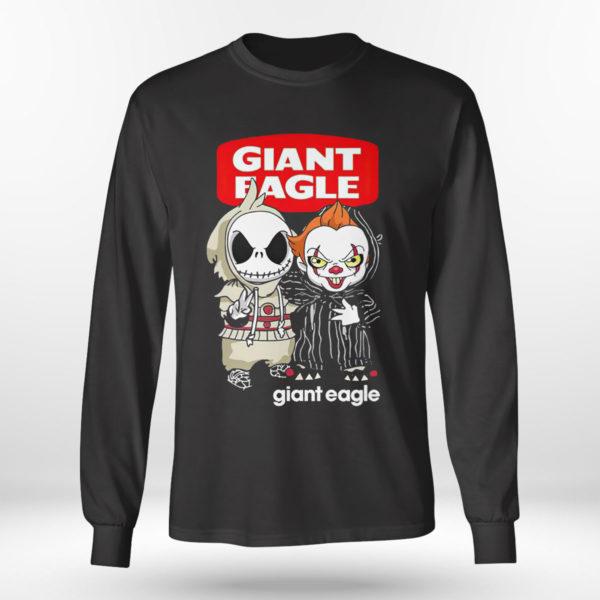 Longsleeve shirt Baby Jack Skeleton and Baby Pennywise Giant Eagle shirt