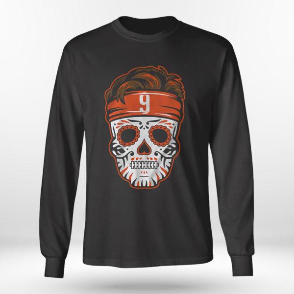 Longsleeve shirt Joe Burrow Sugar Skull Shirt