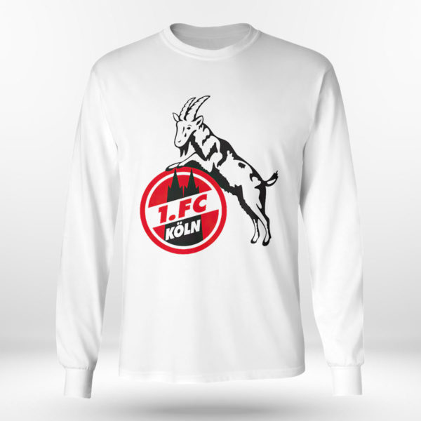 Longsleeve shirt Koln FC logo shirt