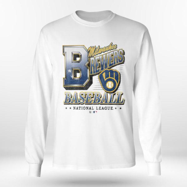 Longsleeve shirt Milwaukee Brewers 47 Tubular shirt