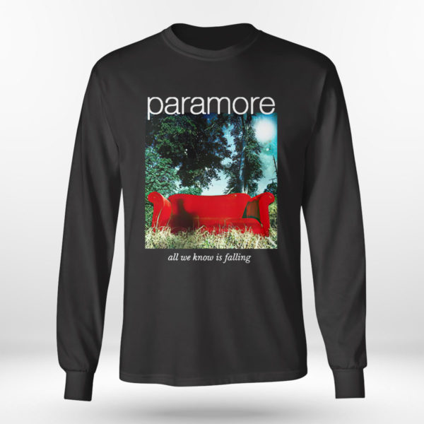 Longsleeve shirt Paramore merch all we know is falling shirt