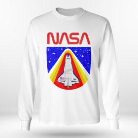 Longsleeve shirt Random Red World Spaceship Nasa shirt Tank top